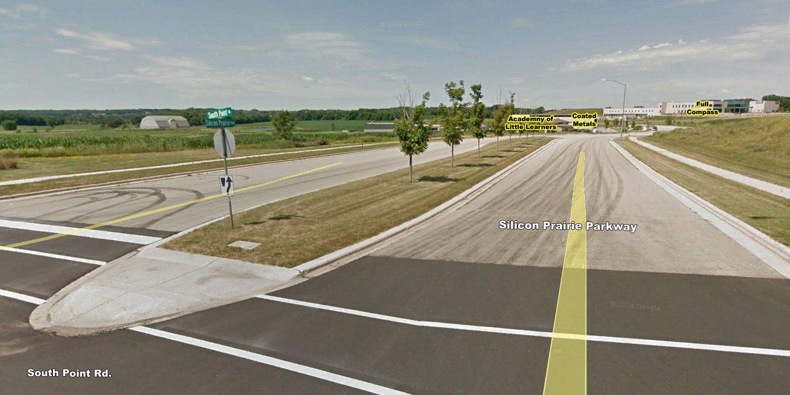 Silicon Prairie Parkway & South Point Road