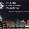 CityofMadison-2015ProjectReview