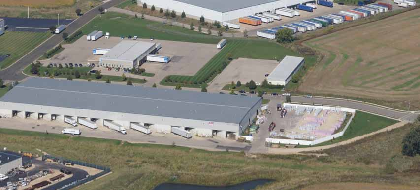 101,800 sq. ft . high-bay distribution center in DeForest, Wis.